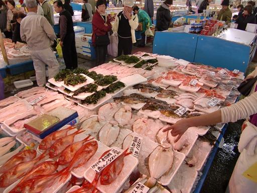 新鮮な魚介類.JPG