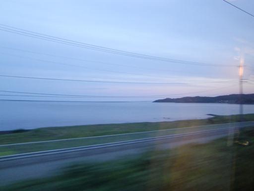羽越本線を北上.JPG